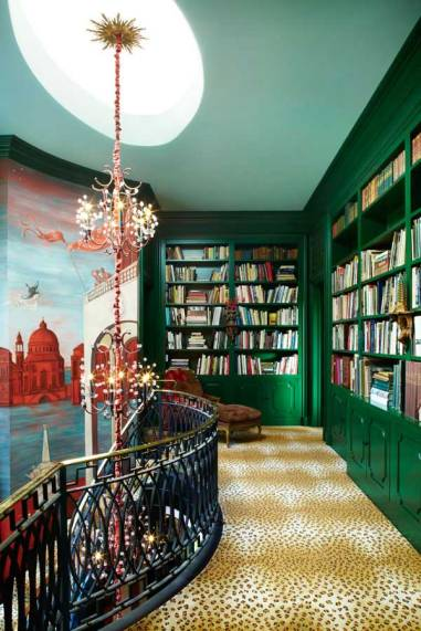 emerald-green-library