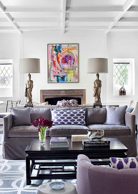 Purple&lamps