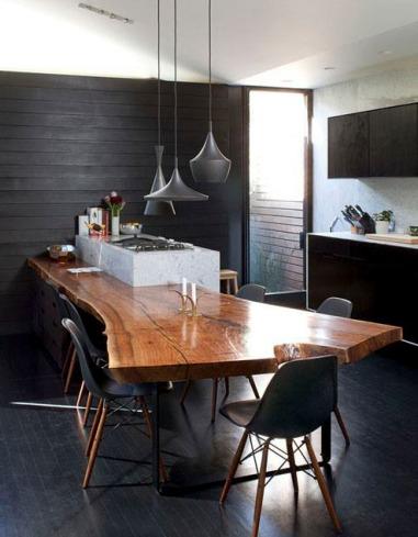 Wood in interiors_