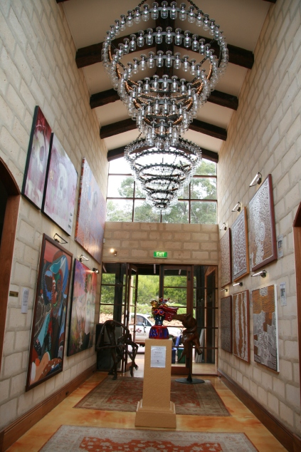 Laurance winery corridor