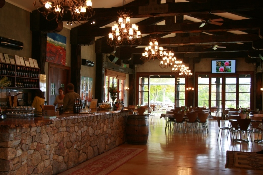 Laurance winery main room