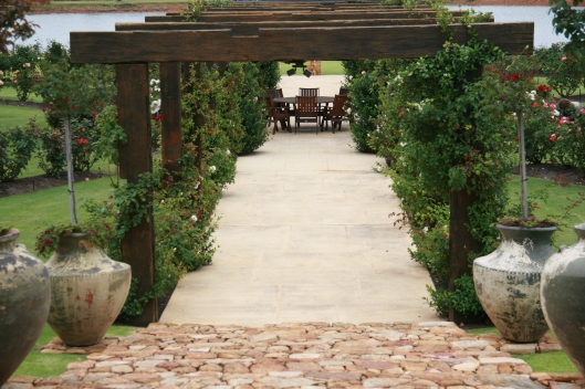 Laurance winery garden