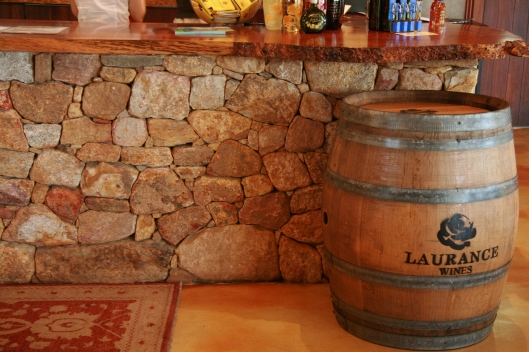 Laurance winery counter