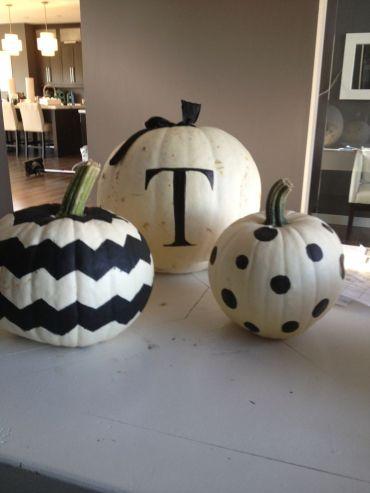 B&W pumpkin