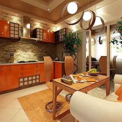 Orange_kitchen