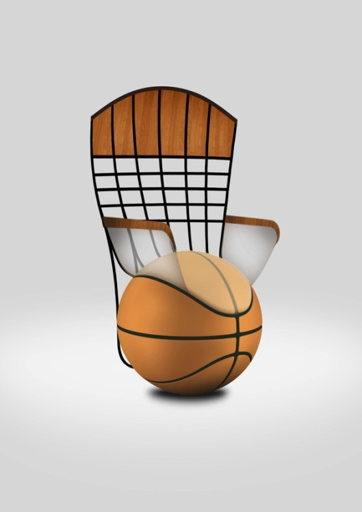 basketball chair